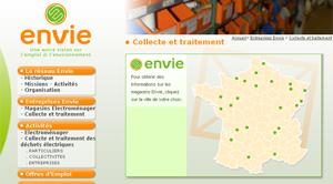 Collecte et traitement des déchets électriques