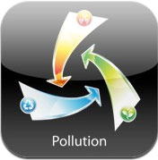 l'application iphone pollution