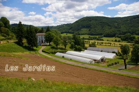 Les jardins de Laroquevieille : maraichage bio et réinsertion