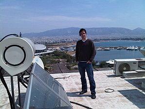Sylvain chauffe au solaire