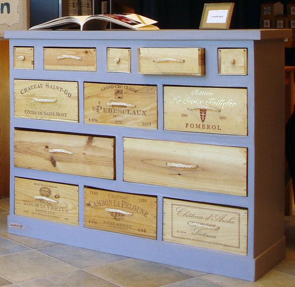 Cr er des meubles et recycler le carton en respectant l for Construire meuble mdf