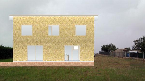 maison cologique maison en paille en autoconstruction. Black Bedroom Furniture Sets. Home Design Ideas