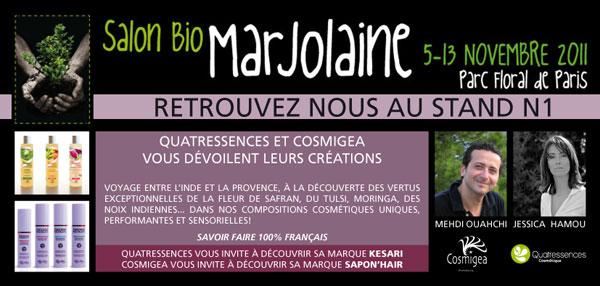 Gagnez des places pour le salon bio marjolaine blog maison cologique le green blog - Salon maison ecologique ...