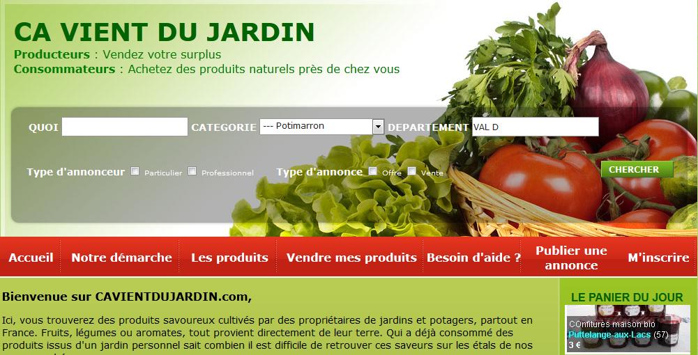Potager bio fruits et l gumes du jardin blog maison for Ca vient du jardin