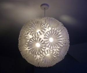 lampe recyclé
