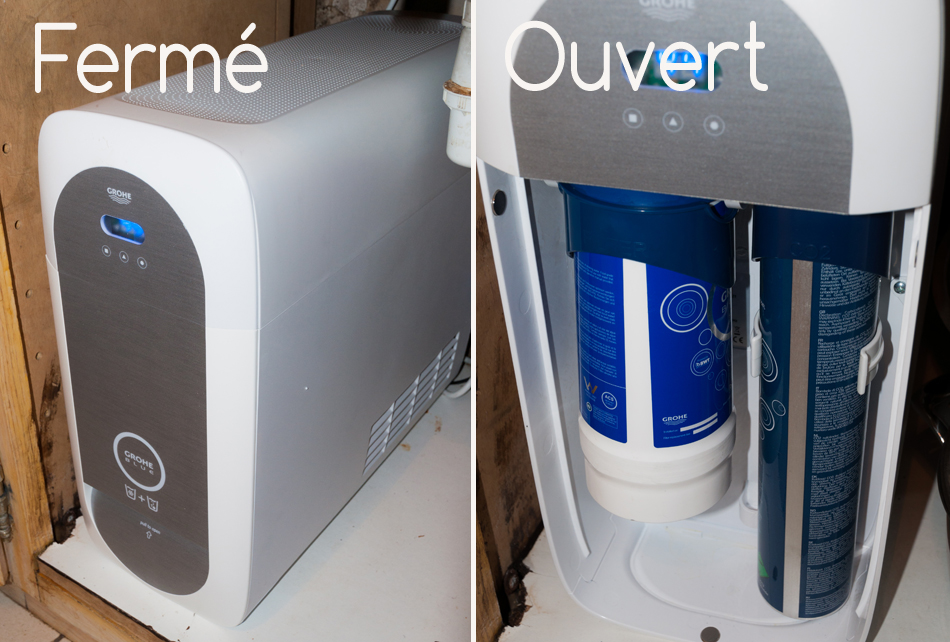 système GROHE Blue Home